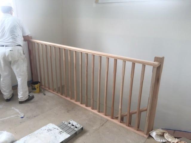 castle-paint-before-varnishing-job