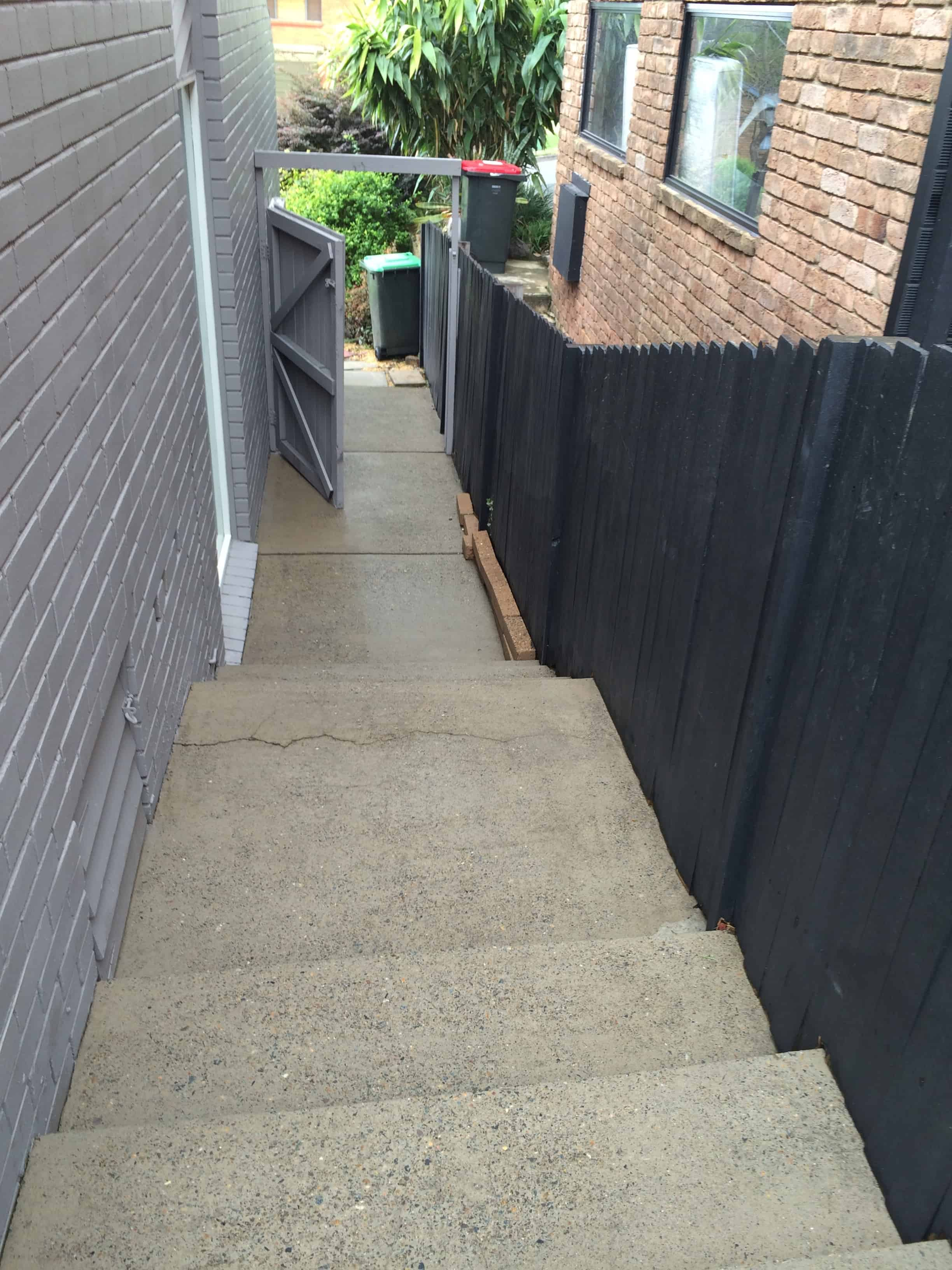 stairs-cleaned-after-high-presurred-washing-at-baulkham-hills